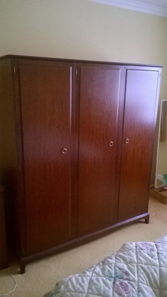 For sale: Stag Colonial collection bedroom furniture.