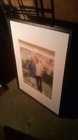 Solid wood picture frame with glass excellent central London bargain