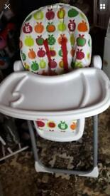 Red Kite high chair
