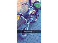 Road legal 140 pitbike reg as a 125