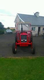 Vintage 574 tractor