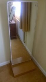 For sale : Good quality free standing full length mirror.