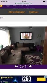 Two bedroom ground floor flat exchange
