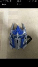 Talking transformers mask toy