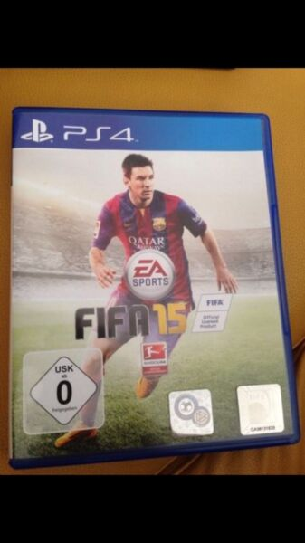 fifa 15 ps4 in duisburg hamborn playstation gebraucht kaufen ebay kleinanzeigen. Black Bedroom Furniture Sets. Home Design Ideas