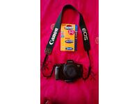 Canon EOS 650 non-digital camera + lens