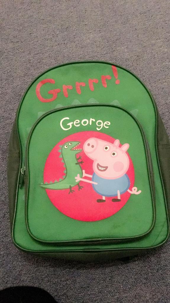 10e9dc76f3 George pig backpack. Blackpool