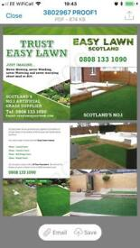 Artificial grass 5 m x 4 m ,25 mm thick, lovely quality, brand new £260 free delivery