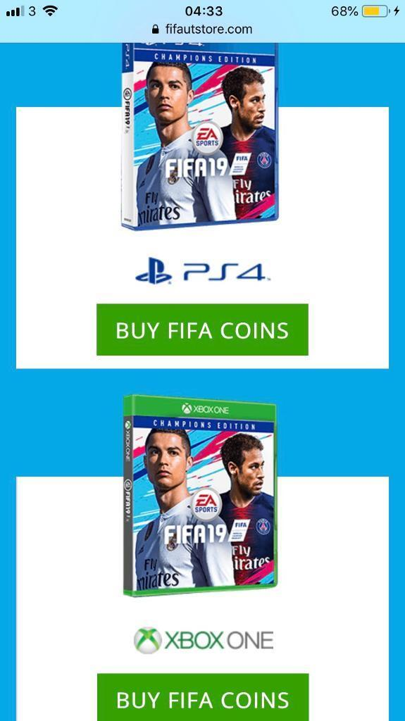 CHEAP FIFA 19 COINS - PS4 OR XBOX | in Ashley Down, Bristol | Gumtree