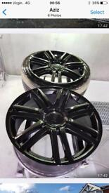 "Genuine Audi alloys 19"" with brand new low profile tyres"