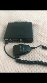 Motorola gm350 66-88 MHz radio ham freqs