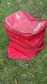 Hein Gericke 2 part motorcycle motorbike tank bag