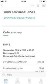 2x DMA tickets
