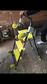 Multiple use ladders trolley etc