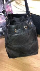Black new look shoulder bag
