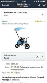 Child's bike trike RRP£113 brand new in box