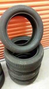 (E18) Pneus d'Ete - Summer Tires 255-50-19 Continental RunFlat