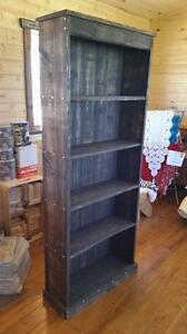 HAND-CRAFTED BOOK CASE OR CURIO CABINET