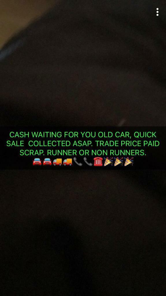 Call now sell your old car anything considered trade prices paid ...