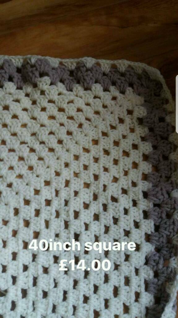 New lovely thick baby blanket
