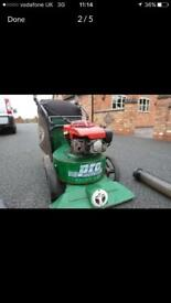 Billy goat leaf vac