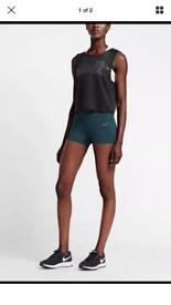 "Nike epic luxe tight 3"" shorts."