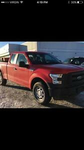2015 Ford F-150 XL/4X4  w/Heavy duty shocks Tow pkg, A/C  *FINAN