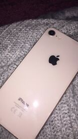 iPhone 8 gold 64gb on EE