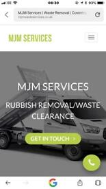 Waste/rubbish removal coventry 07973782845