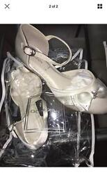 Girls size 13 next occasion shoes