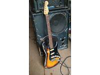 Vintage 1963 Fender Stratocaster modified