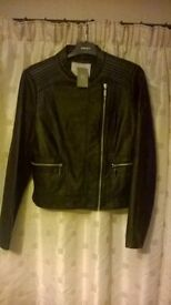 ladies leather coats size 30