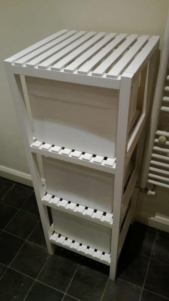 White Ikea Muskan Bathroom shelves | in Stockton-on-Tees ...