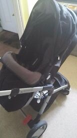 MotherCare ROAM push chair ALL PARTS INCLUDED, +Carseat