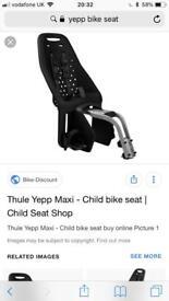 Yepp maxi child seat and adapter