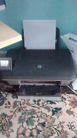 Wireless HP colour printer,scanner and copier