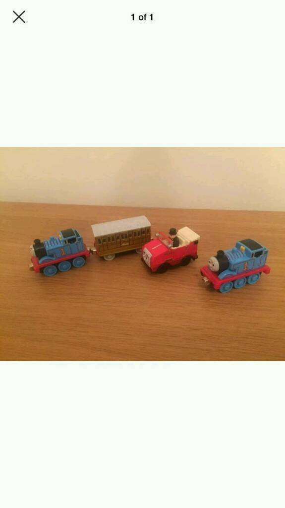 Thomas trains and car good condition