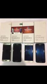 SAMSUNG GALAXY S6 EDGE UNLOCKED BRAND NEW CONDITION COMES WITH WARRANTY & RECEIPT
