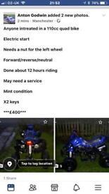 110cc quad ——07841419975——