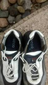 Two pairs of ladies golf shoes