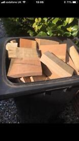 Firewood. Hardwood offcuts