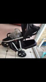 Phil ted vine double buggy