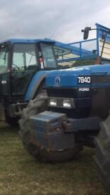 Ford new Holland tractor weights