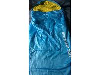 Blue kids sleeping bag