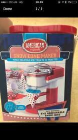 American Snow Cone Maker