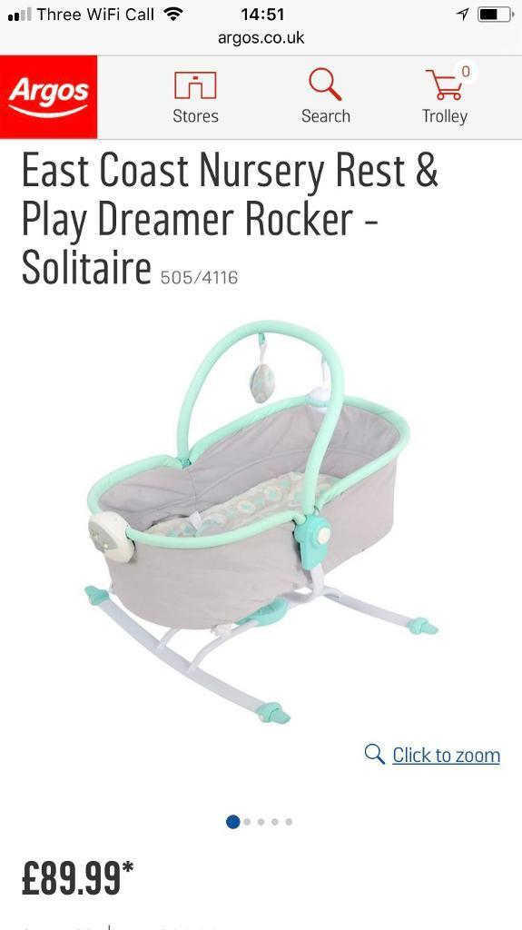 Baby rocker with music and heartbeat like new
