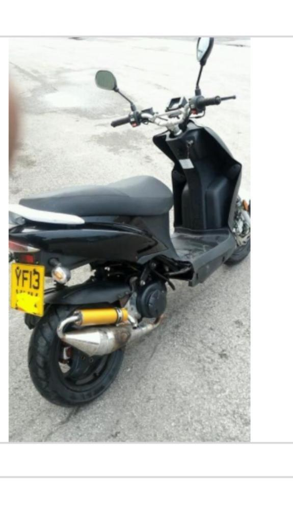 Cheap Hanway 50cc Moped For Sale 13 Plate 2 Stroke In Bradford