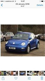 VW Beetle 2.0 FOR SALE £950