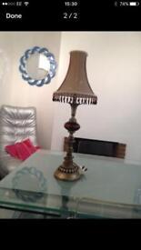 Table lamp - ornate