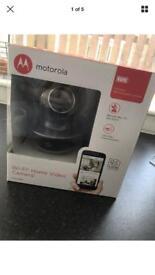 Motorola baby monitor with live stream brand new